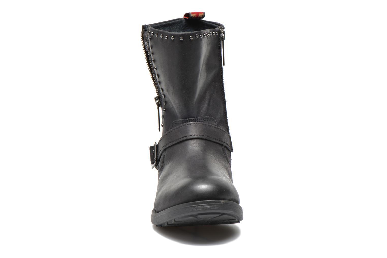 Bottines et boots Pepe jeans Pimlico Sequins Noir vue portées chaussures