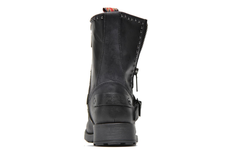 Bottines et boots Pepe jeans Pimlico Sequins Noir vue droite