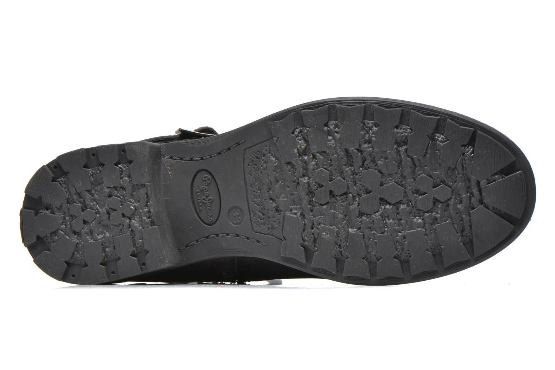 Bottines et boots Pepe jeans Pimlico Sequins Noir vue haut
