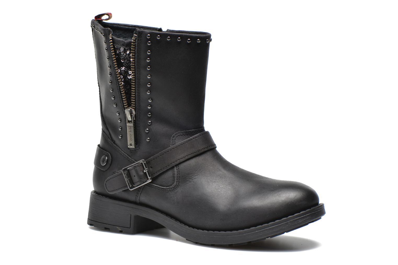 Bottines et boots Pepe jeans Pimlico Sequins Noir vue détail/paire