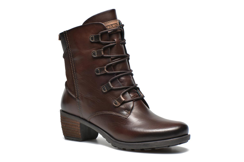 Best Quality Pikolinos LE MANS 838 8550C1 Brown Ankle boots 230017 Womens Olmo olmo Pikolinos Womens Ankle boots