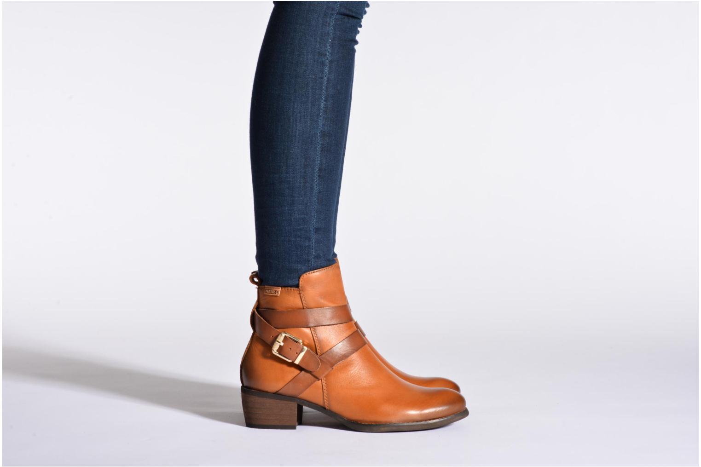 Stiefeletten & Boots Pikolinos HAMILTON W2E-8642 braun ansicht von unten / tasche getragen