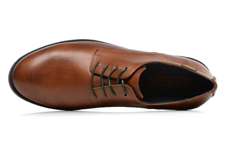 Chaussures à lacets Pikolinos DURBAN M3B-4034 Marron vue gauche