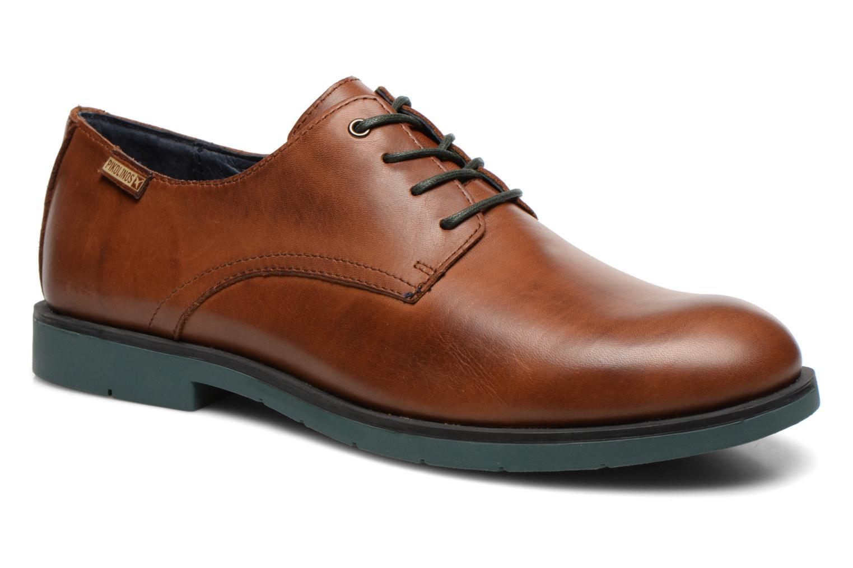 Chaussures à lacets Pikolinos DURBAN M3B-4034 Marron vue détail/paire