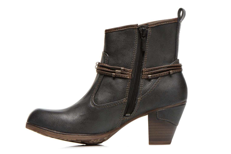 Bottines et boots Mustang shoes Maled Gris vue face
