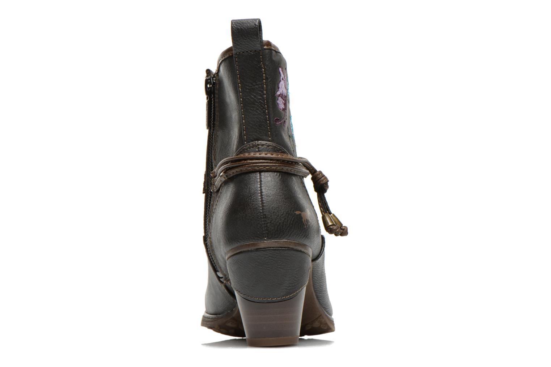 Bottines et boots Mustang shoes Maled Gris vue droite