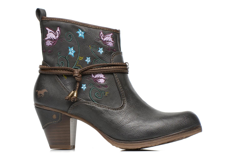 Bottines et boots Mustang shoes Maled Gris vue derrière