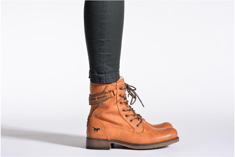 Bottines et boots Mustang shoes Amis Gris vue bas / vue portée sac