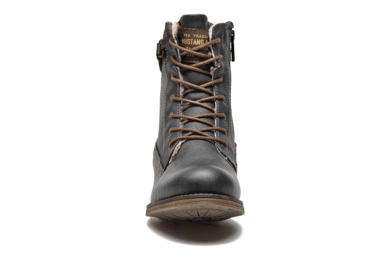 Bottines et boots Mustang shoes Amis Gris vue portées chaussures