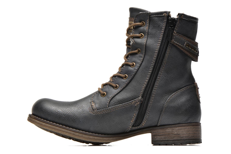Bottines et boots Mustang shoes Amis Gris vue face