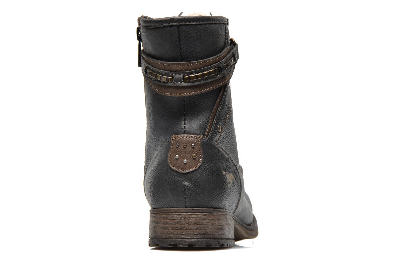 Bottines et boots Mustang shoes Amis Gris vue droite