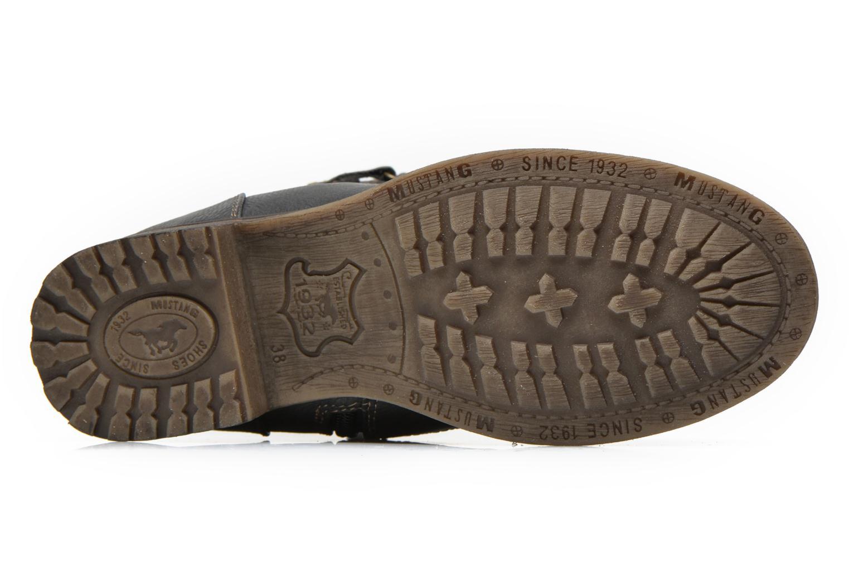 Bottines et boots Mustang shoes Amis Gris vue haut