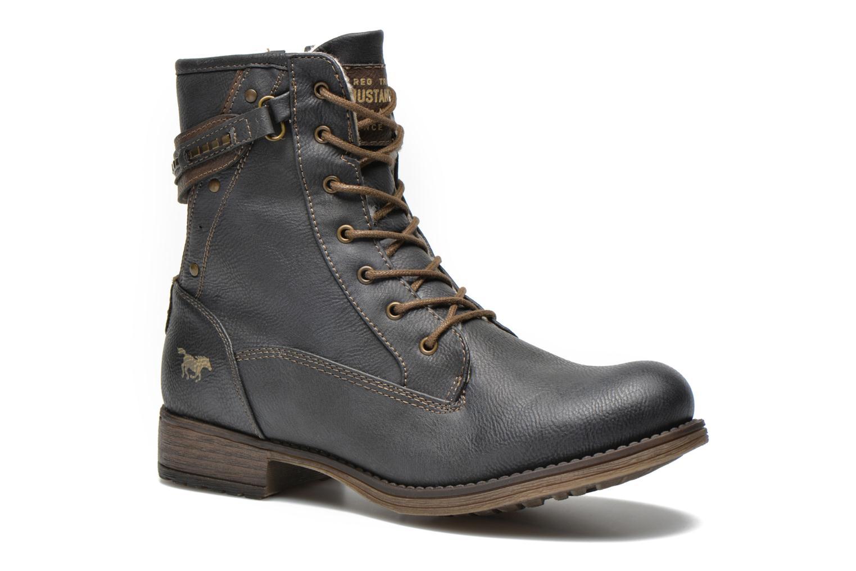 Bottines et boots Mustang shoes Amis Gris vue détail/paire