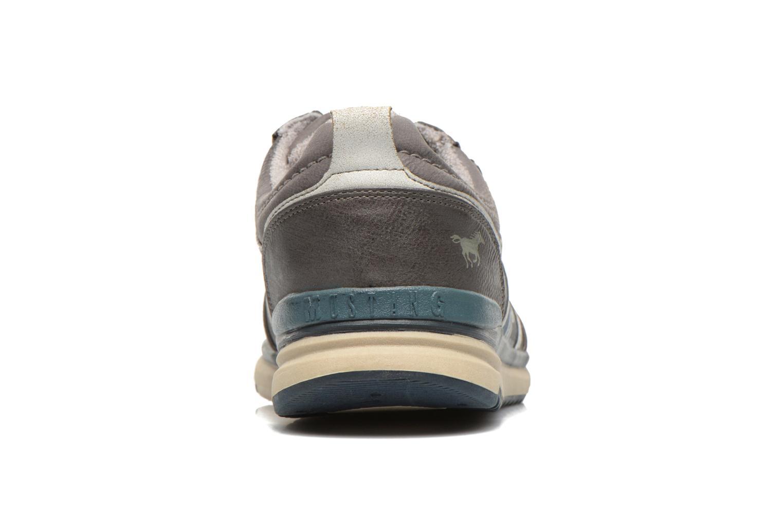 Baskets Mustang shoes Hilim Gris vue droite