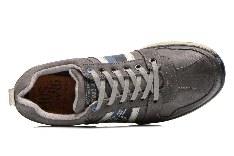 Baskets Mustang shoes Hilim Gris vue gauche