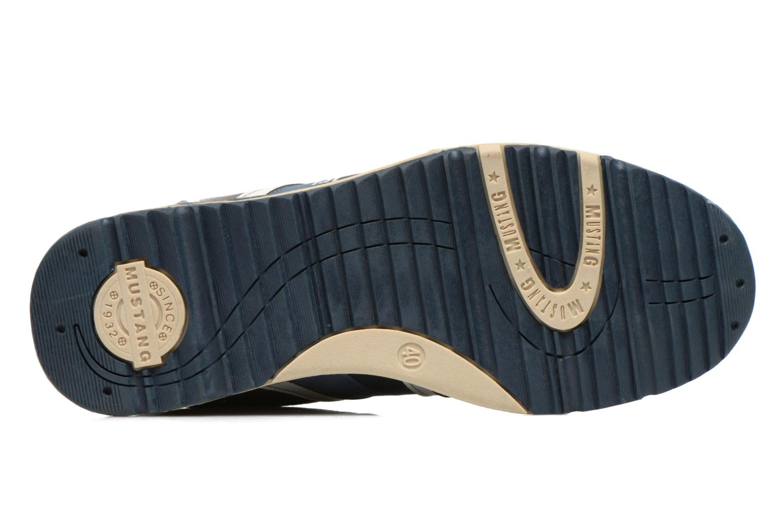 Baskets Mustang shoes Hilim Gris vue haut