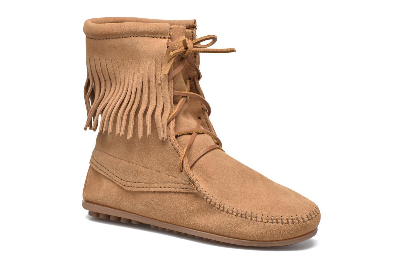 Bottines et boots Minnetonka Tramper Bt Beige vue détail/paire