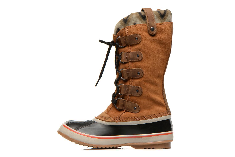 Bottines et boots Sorel Joan of Artic Knit II Marron vue face