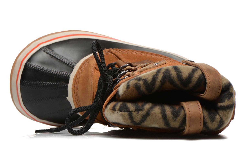 Bottines et boots Sorel Joan of Artic Knit II Marron vue gauche