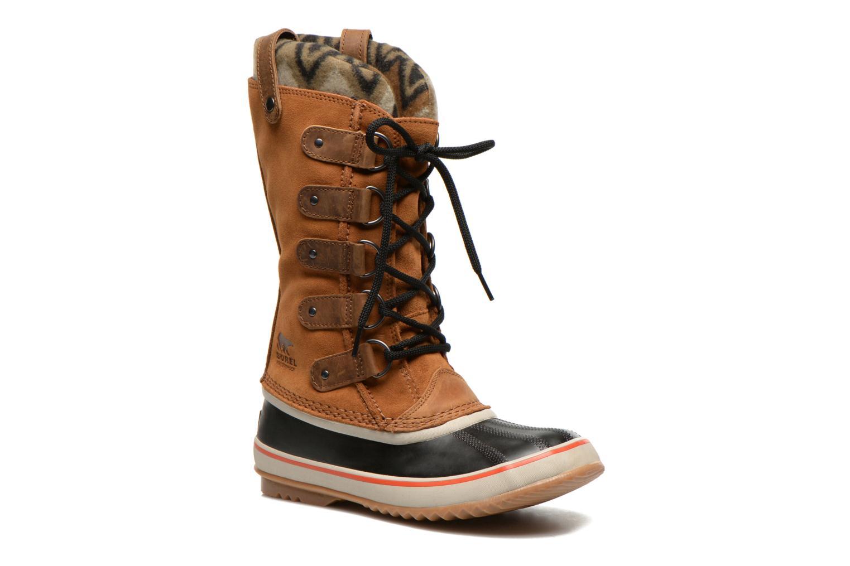Bottines et boots Sorel Joan of Artic Knit II Marron vue détail/paire