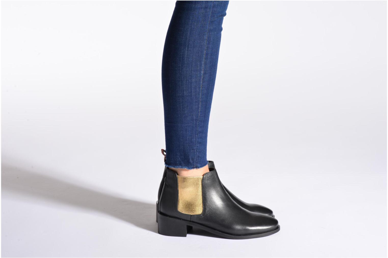 Bottines et boots Pepe jeans Angie Special Noir vue bas / vue portée sac