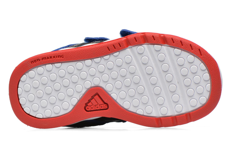 Baskets Adidas Performance LK Spider-Man CF I Bleu vue haut