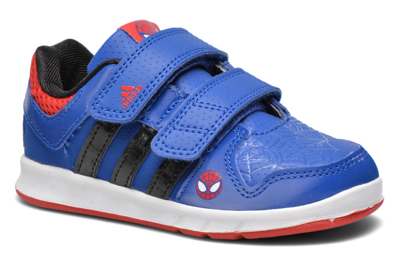 Baskets Adidas Performance LK Spider-Man CF I Bleu vue détail/paire