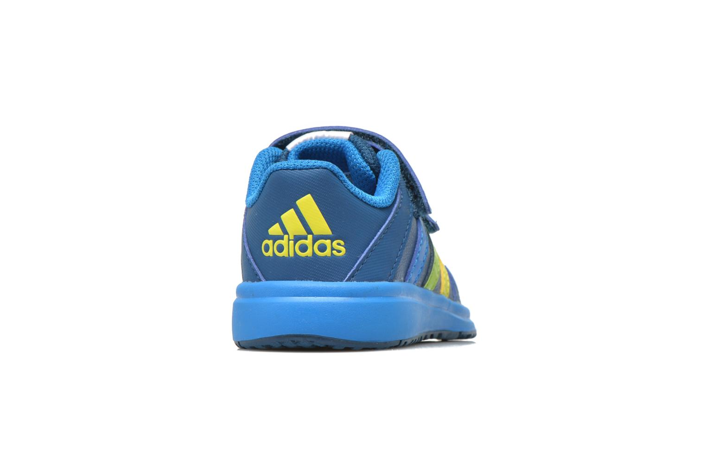 Chaussures de sport Adidas Performance Snice 4 CF I Bleu vue droite