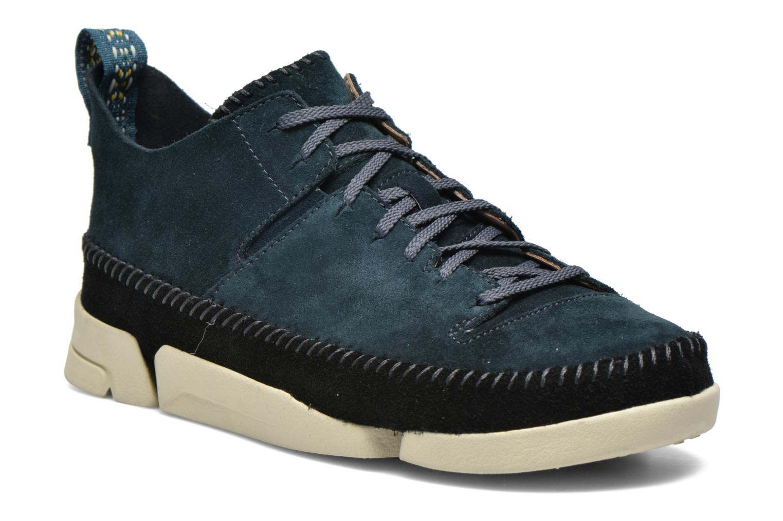 Chaussures Clarks Trigenic bleues Casual homme Eds7mY4xS