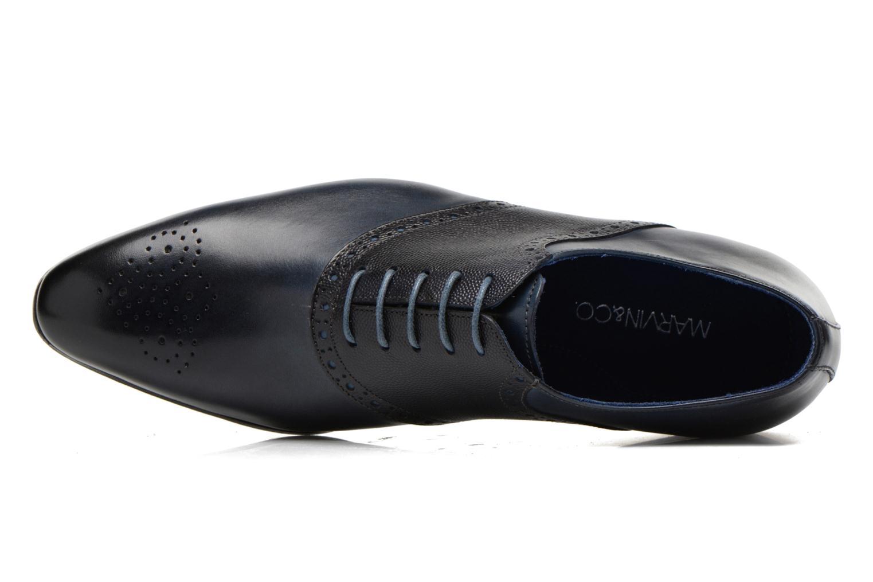Chaussures à lacets Marvin&Co Nagolfy Bleu vue gauche