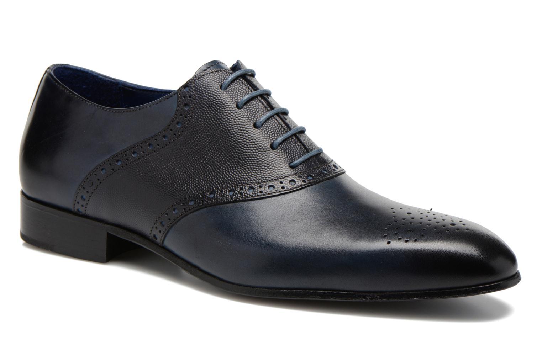 Chaussures à lacets Marvin&Co Nagolfy Bleu vue détail/paire