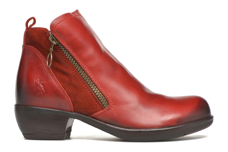 Bottines et boots Fly London Meli Rouge vue derrière