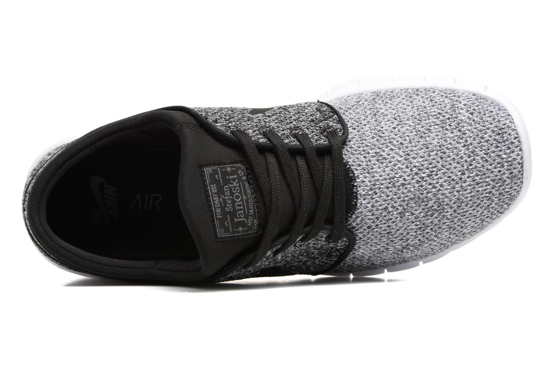 Sneaker Nike Stefan Janoski Max schwarz ansicht von links