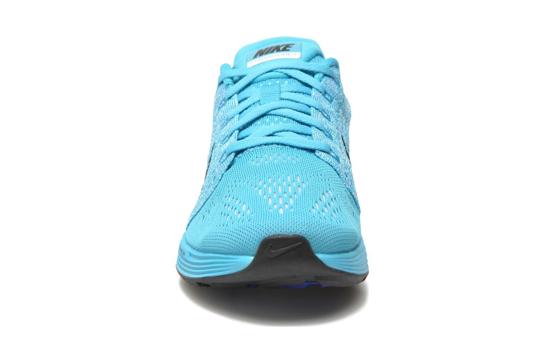 Wmns Nike Lunarglide 7 Gamma Blue/Black-White