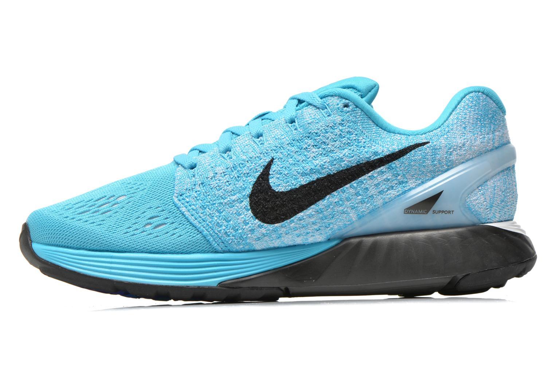 Chaussures de sport Nike Wmns Nike Lunarglide 7 Bleu vue face