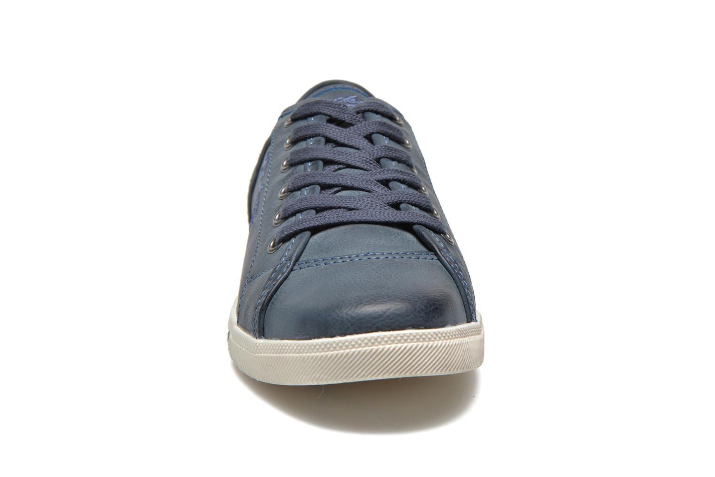 Baskets Dockers Oceane Bleu vue portées chaussures
