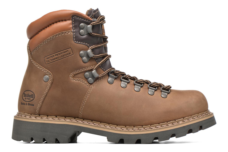 Boots en enkellaarsjes Dockers Teo Bruin achterkant