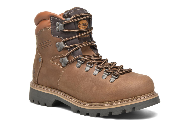 Bottines et boots Dockers Teo Marron vue détail/paire