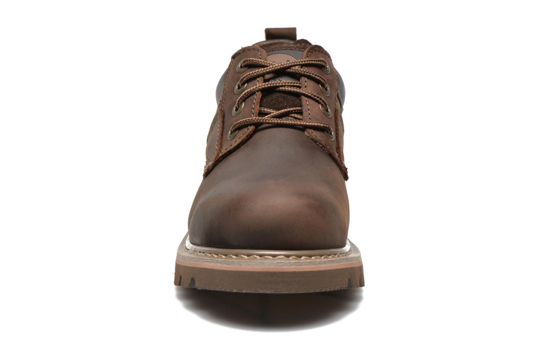 Chaussures à lacets Dockers Vinc Marron vue portées chaussures