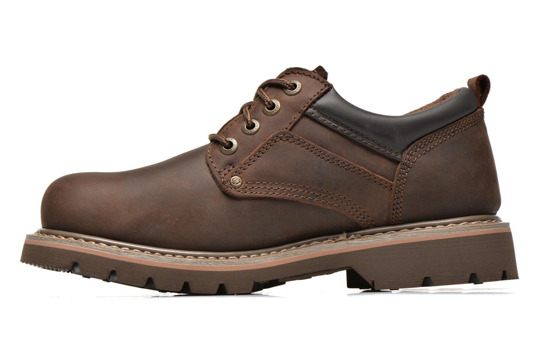 Chaussures à lacets Dockers Vinc Marron vue face
