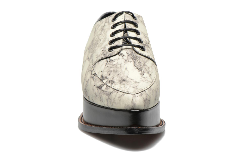 Chaussures à lacets Opening Ceremony Marble Leather Eleanora Platform Multicolore vue portées chaussures
