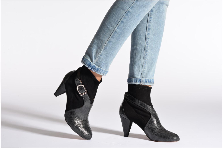 Bottines et boots Sonia Rykiel Ewip Noir vue bas / vue portée sac