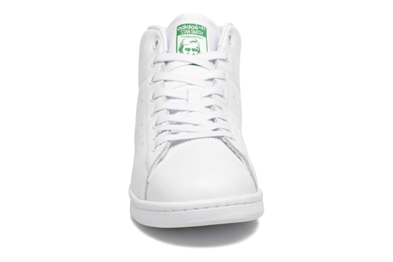 Baskets Adidas Originals Stan Smith Mid Blanc vue portées chaussures