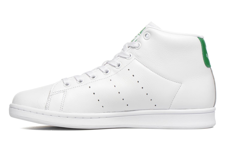 Baskets Adidas Originals Stan Smith Mid Blanc vue face