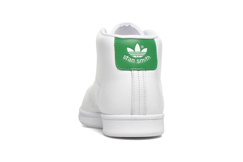 Baskets Adidas Originals Stan Smith Mid Blanc vue droite