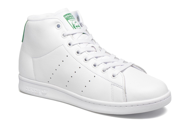 Baskets Adidas Originals Stan Smith Mid Blanc vue détail/paire