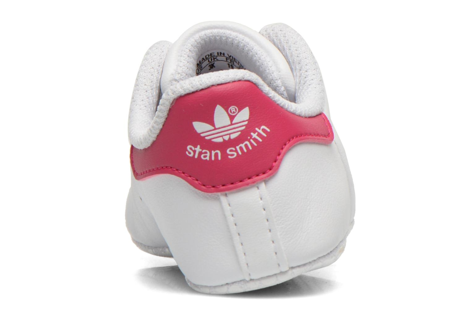 Baskets Adidas Originals Stan Smith Crib Blanc vue droite