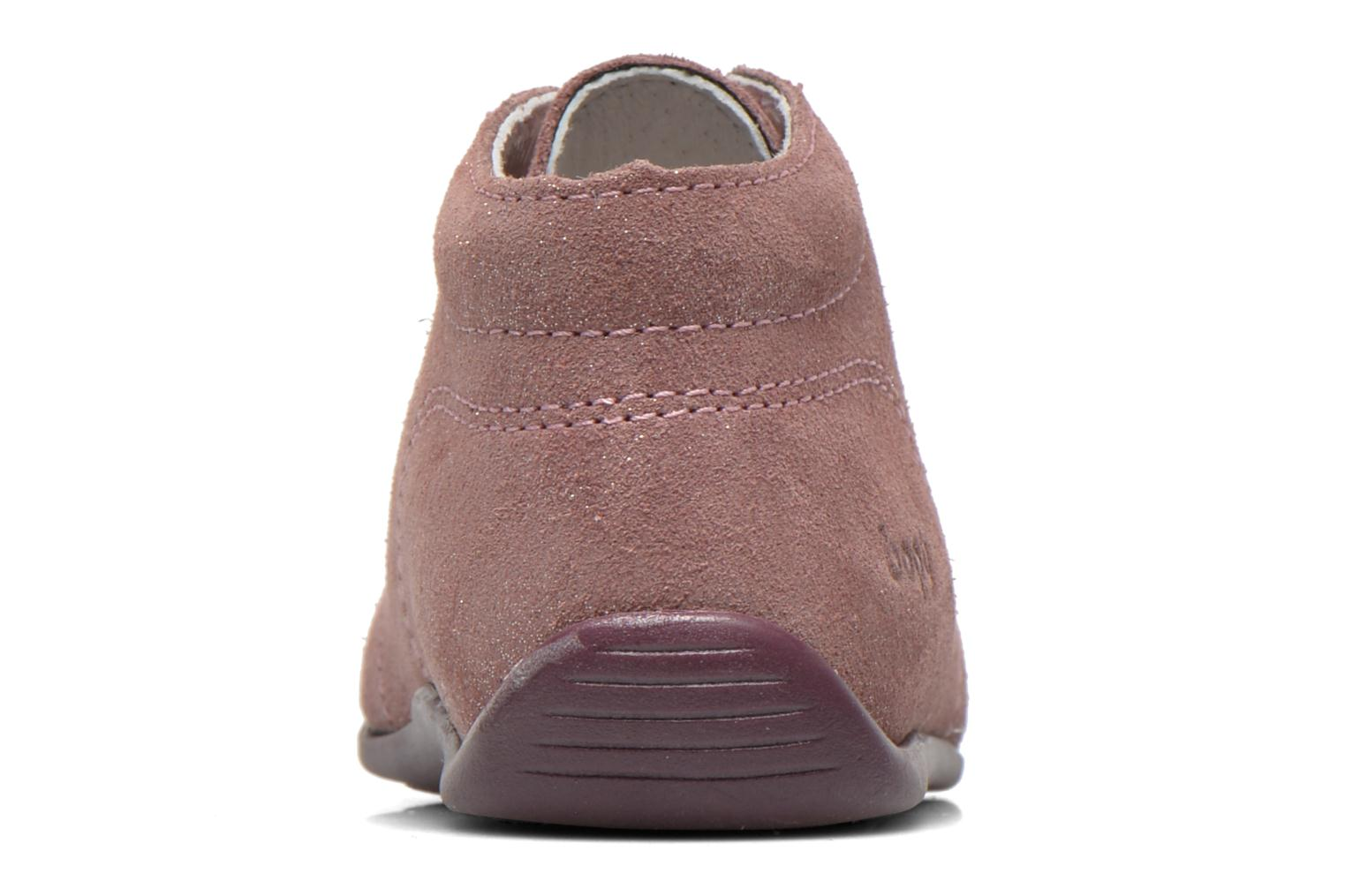 Ankle boots Bopy Padova Pink view from the right