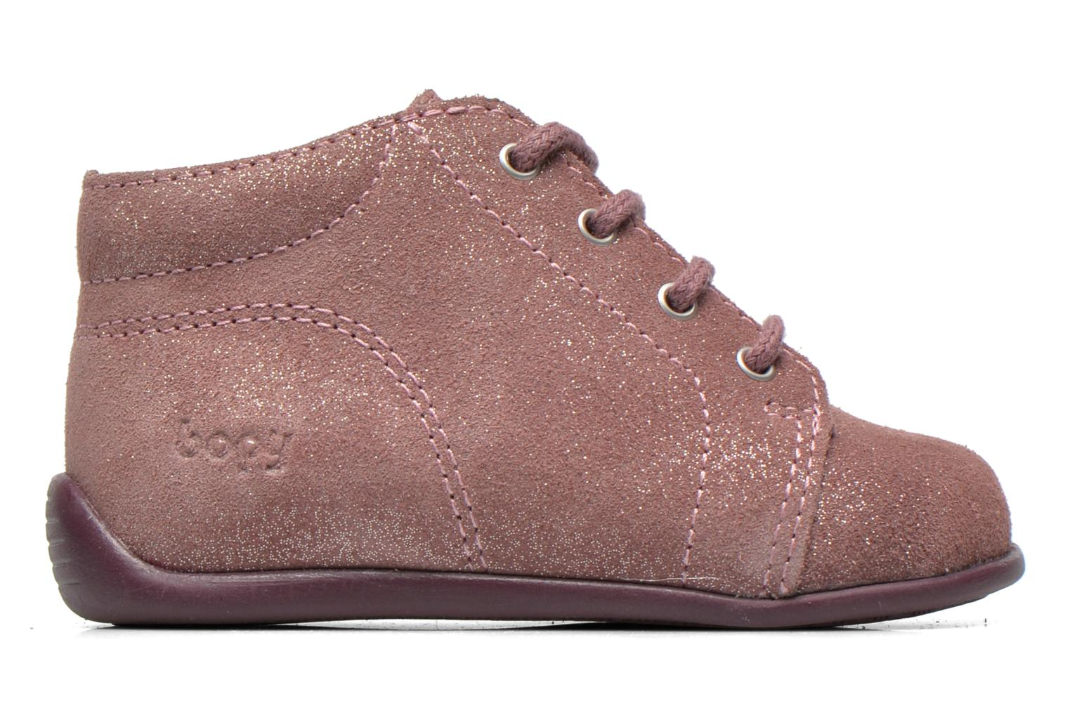 Ankle boots Bopy Padova Pink back view