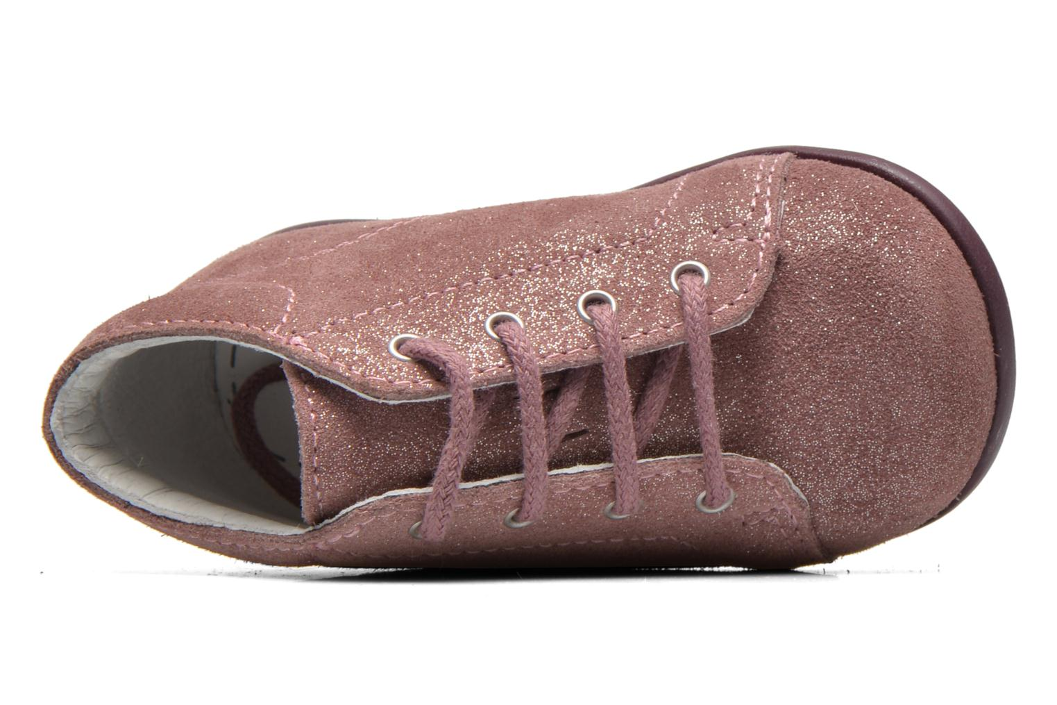 Ankle boots Bopy Padova Pink view from the left